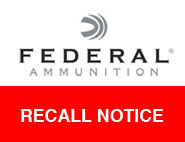Federal american eagle product recall